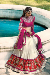 http://www.variationfashion.com/collections/lehenga-sarees/products/off-white-pink-lehnga-choli-by-variation
