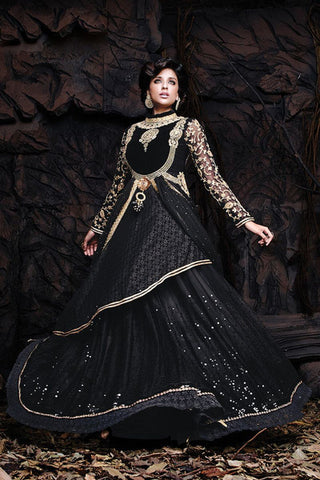 http://www.variationfashion.com/collections/lehenga-sarees/products/black-net-brasso-semi-stitched-lehenga
