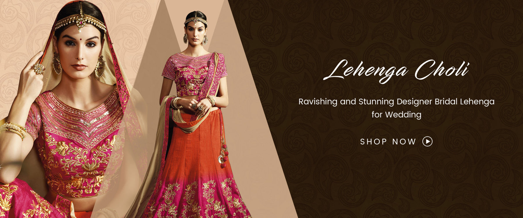 Lehenga Choli Online Shopping: Buy Designer Lehenga online at best price on Variation. Choose from wide range of Bridal Lehengas and Indian Wedding Lehenga Choli for reception. Shipping worldwide including India, USA, UK and Canada.
