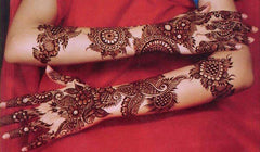 long hand mehndi designs