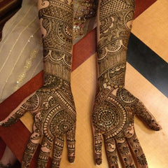 latest mehndi patterns