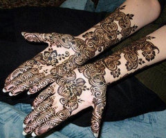 latest mehndi concepts