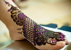mehndi design for anarkali suits