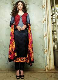 jacket style salwar suits
