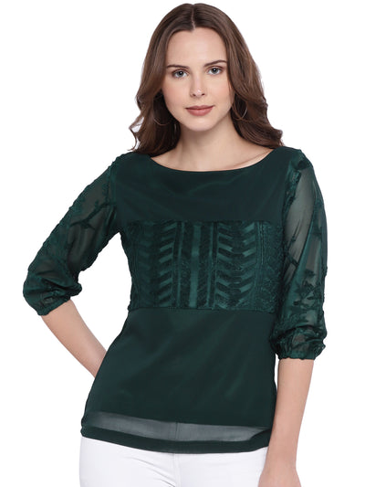 Designer Sacramento Green Top