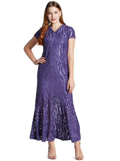 Women's Maxi Dress in Purple