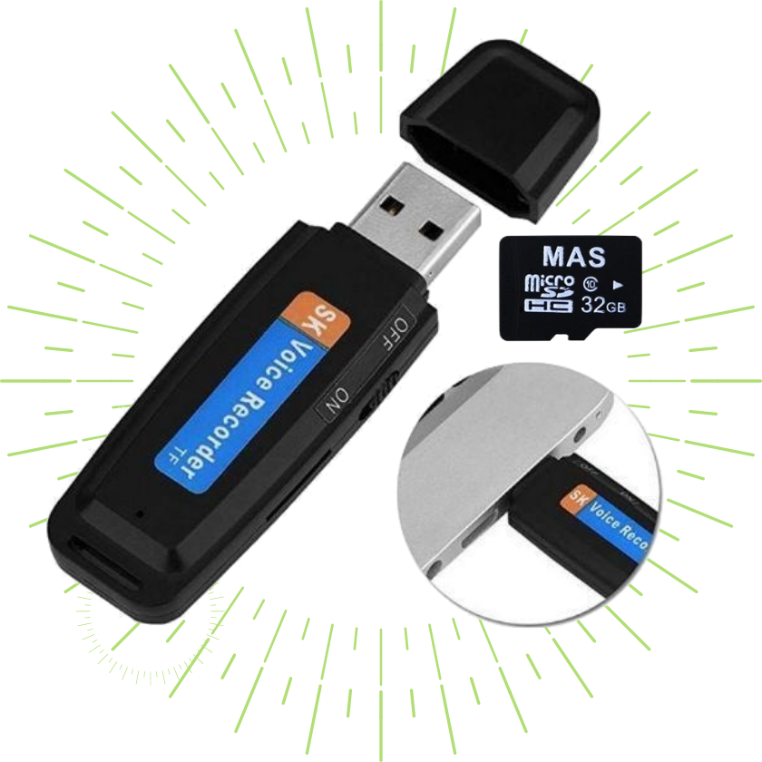 USB Voice / Audio Recorder