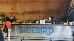 Blue Bird Coffee.