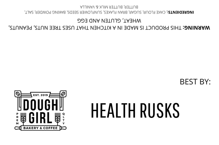Dough Girl Artisanal Health Rusks