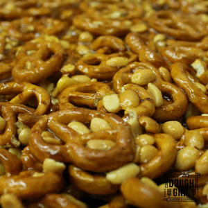 Dough Girl Peanut & Pretzel Brittle