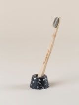 Black & grey Toothbrush holder