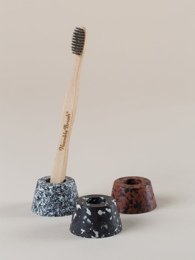Toothbrush holder - mixed trio set #1