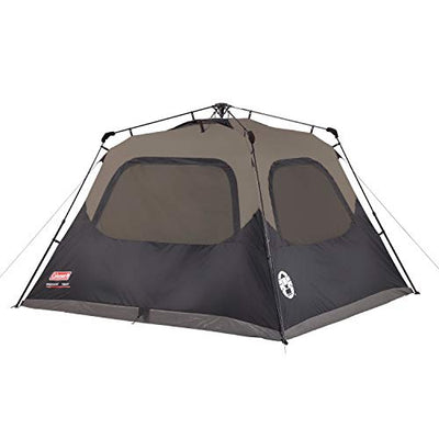 Coleman Camping Cabin Tent | Instant Setup Cabin Tent with Dark Room Technology
