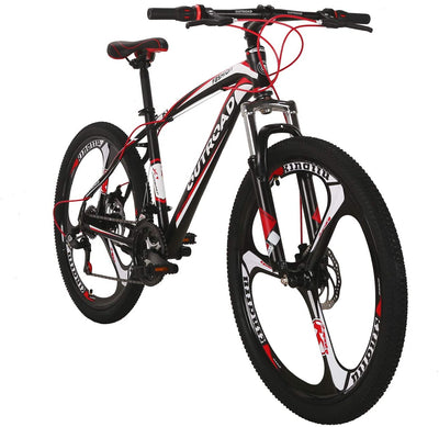 Outroad 26-Inch Wheel Mountain Bike | 21 Speed Mountain Bike with Double Disc Brake