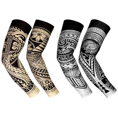 RoryTory Cooling Arm Compression Sleeve | Sun Guard Arm Tattoo Cover Up Sleeves