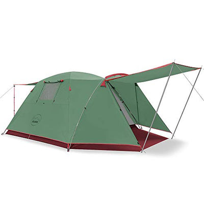 KAZOO Uranus Family Camping Tent | Easy Setup Double Layer Tent with Porch