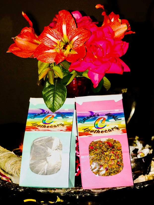 Monie's Herbal Bath Tea 8ct Tea Bag Set