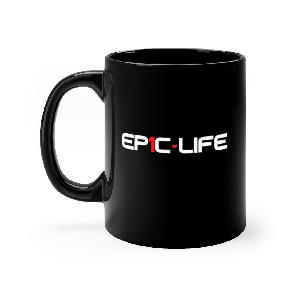 Epic Black Mug 11oz