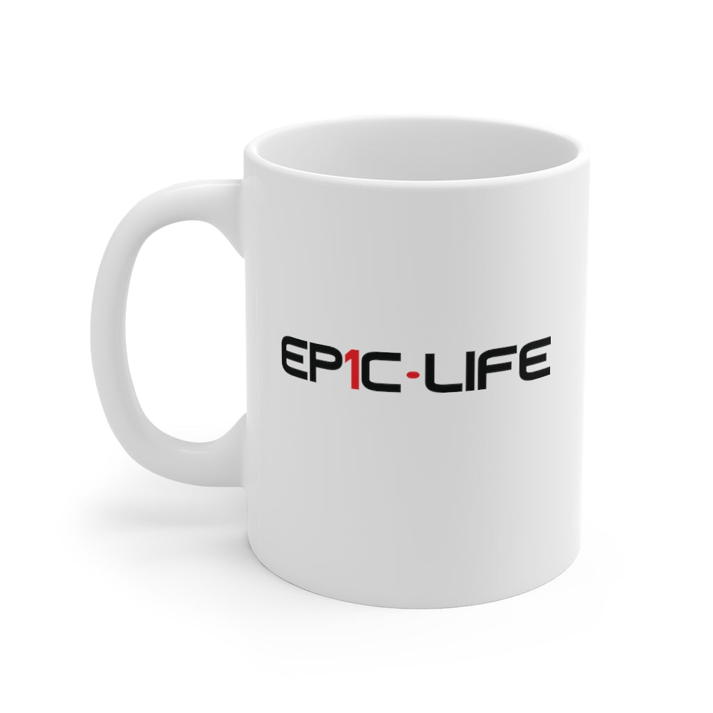 Epic White Mug 11oz
