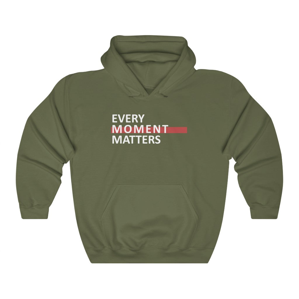 Every Moment Matters Unisex Heavy Blend™ Hooded Sweatshirt