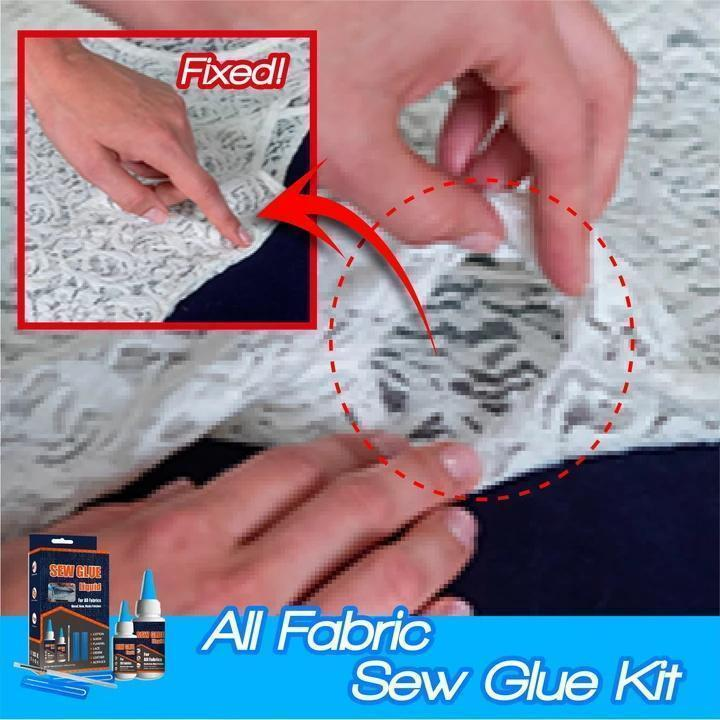 All Fabric Sew Glue Kit