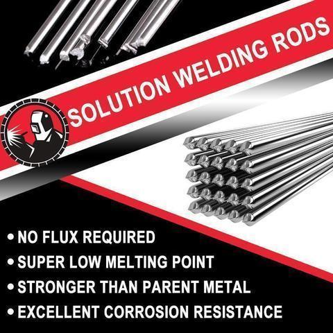 Solution Welding Flux-Cored Rods