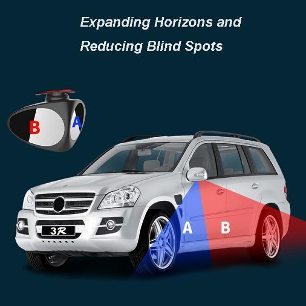 2-IN-1 Car Blind Spot Mirror-Always See Your Surroundings