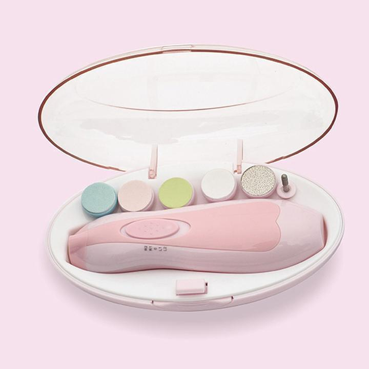Portable Baby Nail Trimmer Set [Batteries Included]
