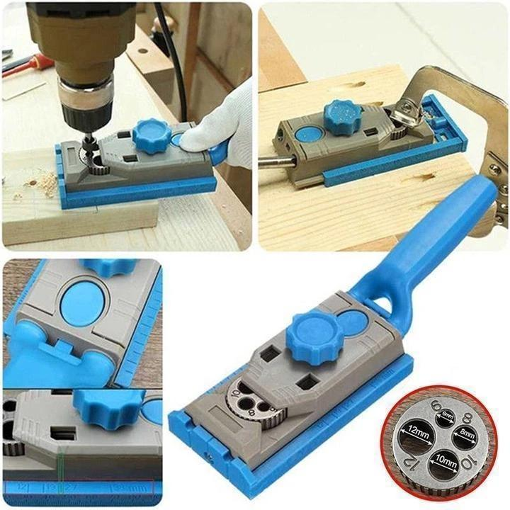 2 in 1 Pocket Hole Drill Guide Jig