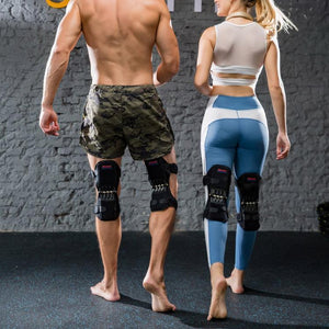 KNEE BOOSTER MECHANICAL BRACE (1 PAIR WITH LEFT + RIGHT)