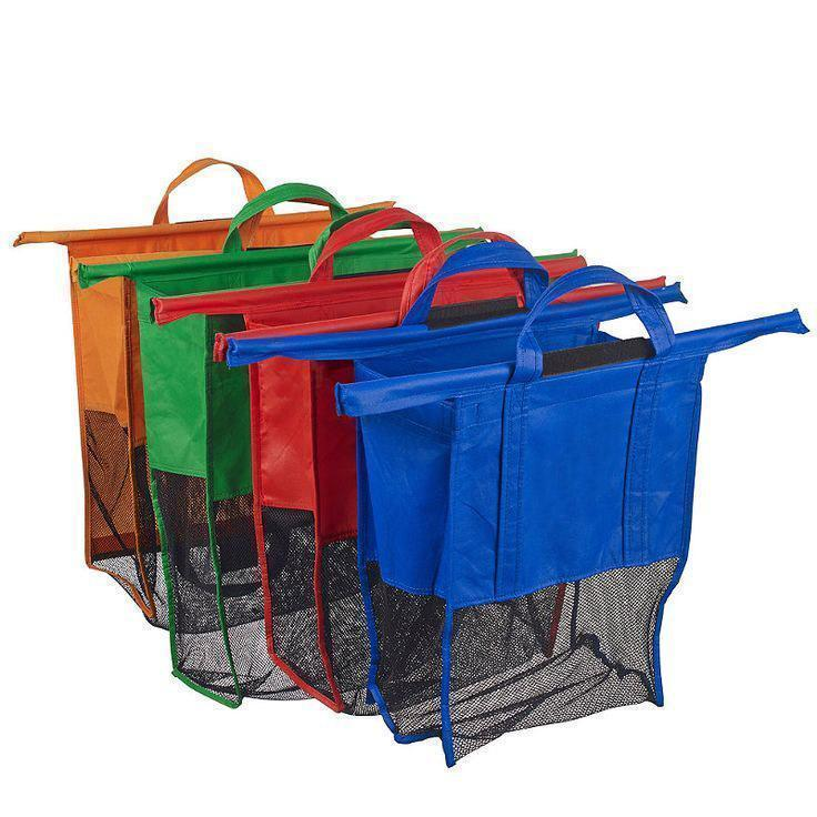 Reusable Grocery Trolley Bags (4pcs)
