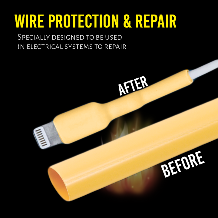 Heat Shrink Wire & Cable Protector Kit (100pcs)