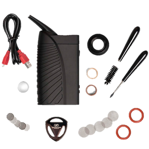 Kit completo vaporizador portatil Boundless CFV