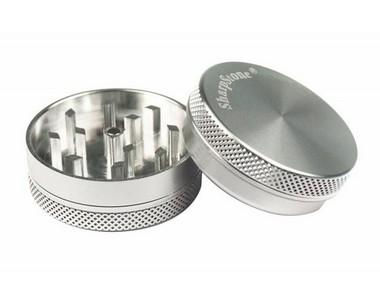 Picture of 35mm Silver Magnetic Grinder 2 pieces - Sharpstone