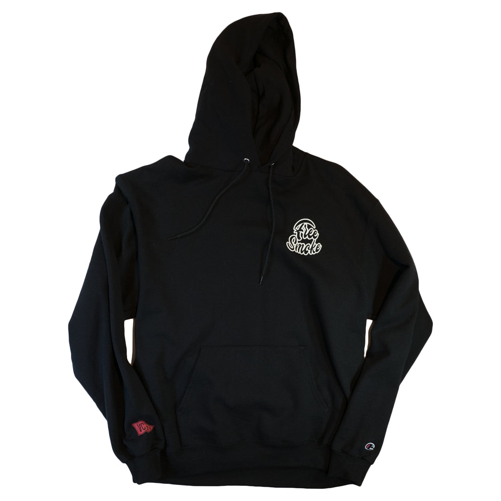 FREE SMOKE HOODY- Black