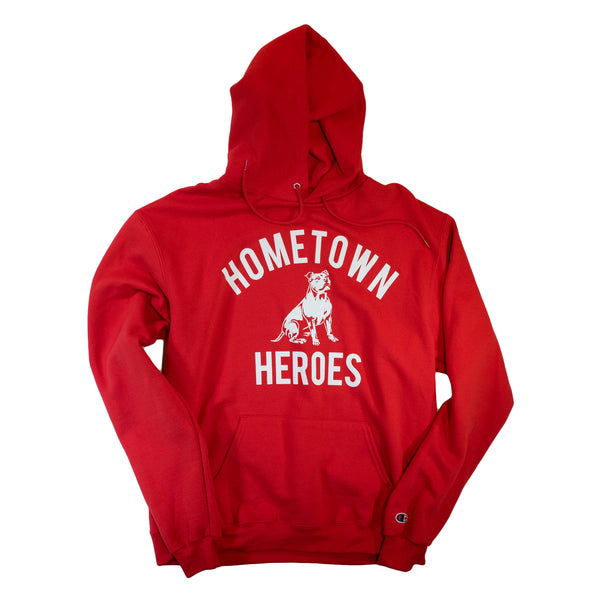 HOMETOWN HEROES HOODY - Red
