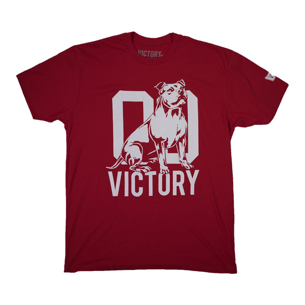 VCTY CLASSIC LOGO TEE - #Red