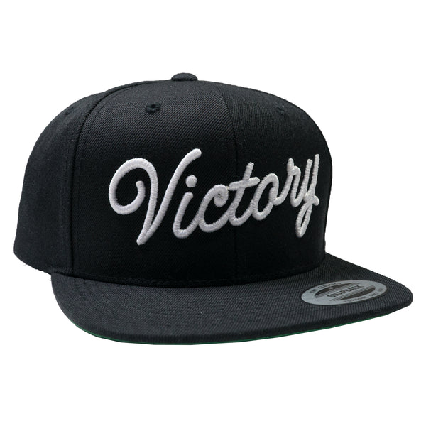 VCTY VICTORY SCRIPT CLASSIC SNAPBACK - #Black