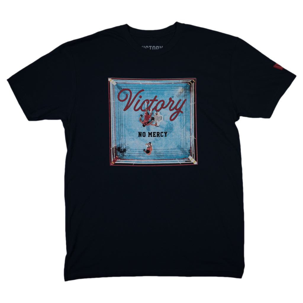 NO MERCY TEE  - Navy