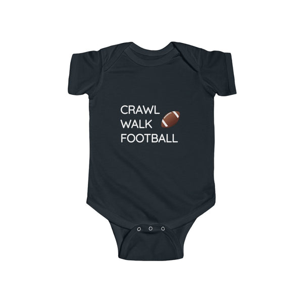 Crawl Walk Football Bodysuit