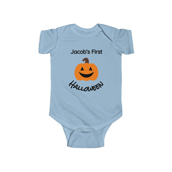 Custom First Pumpkin Halloween Bodysuit