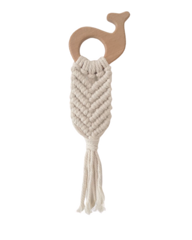Woven Wooden Teether