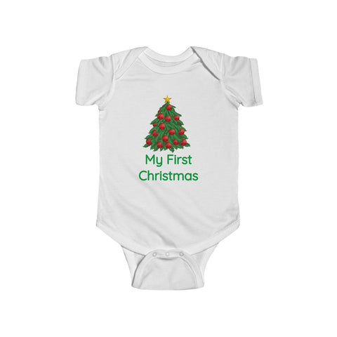 My First Christmas Tree Bodysuit