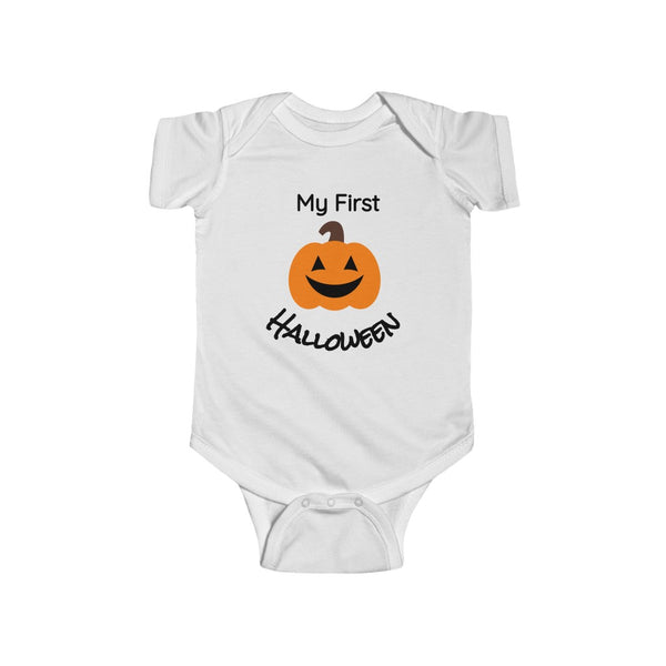 My First Pumpkin Halloween Bodysuit