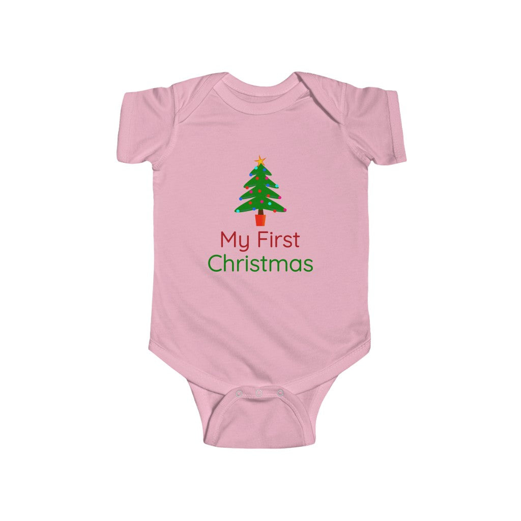 My First Christmas Bodysuit