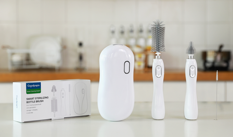 Goodpapa launches electric UVC sterilization bottle brush in the Global Market.