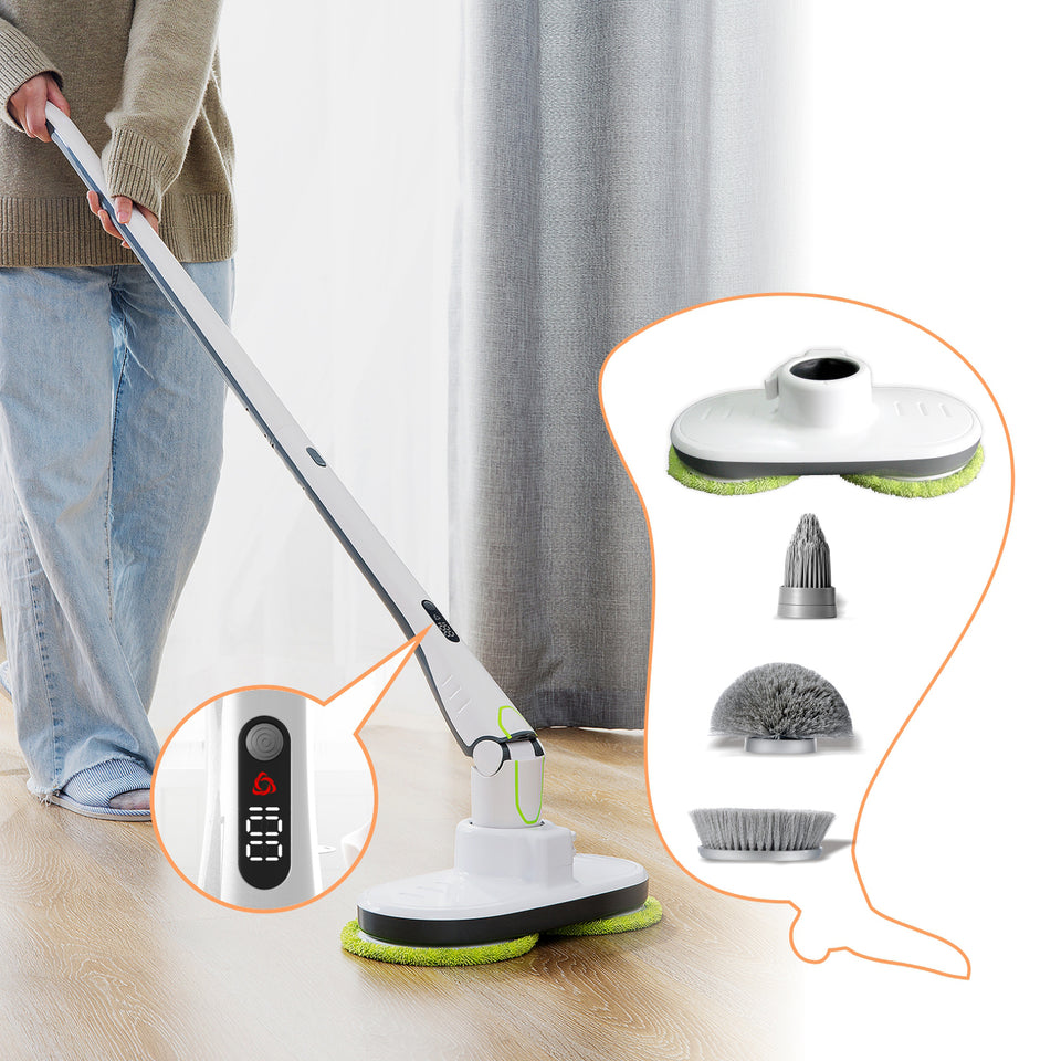 Multi-purpose Wireless Spin Mop