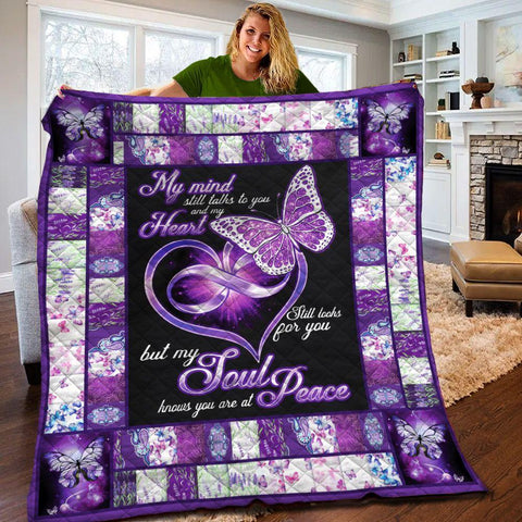 MP2209 - Butterfly - Soul And Free - Blanket