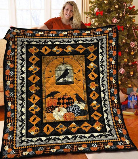Halloween - MP2309 - Halloween - The Crow - Blanket