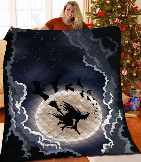 PHT1809 - Halloween - Down To Hell - Blanket